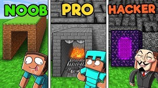 Download Minecraft - SECRET MAZE CHALLENGE! (NOOB vs PRO vs HACKER) Video