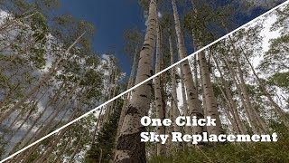 Download One CLick Sky Replacement in Photoshop Video