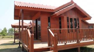 Download บ้านระยอง บ้านไม้ ที่บ้านหลวงปู่เรือนไทย บ้านไม้เรือนไทย บ้านทรงไทย :ม.ค.57 Tel 087- 617 4014 Video