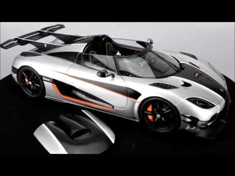 AUTOart Koenigsegg One:1 (Moon Grey)