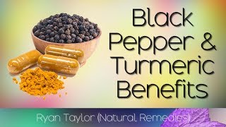 Download Black Pepper and Turmeric: Health Benefits Video