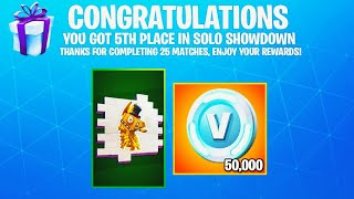 Download i won Solo Showdown.. then THIS happened!! (Solo Showdown Rewards) Video