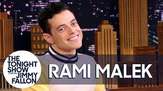 Download Rami Malek Discusses His Freddie Mercury Transformation Video