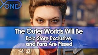Download The Outer Worlds Will Be Epic Store Exclusive, and Fans Are Pissed Video