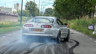 Download Supercars & Modified Cars Accelerating - Akrapovic 488, Decat RS6, PD650i, Supra, Milltek RS3, RX-7 Video
