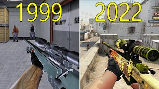 Download Evolution of Counter Strike 1999-2018 Video