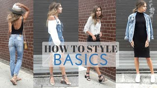Download How To Style : BASICS // Summer Basics Look Book Video