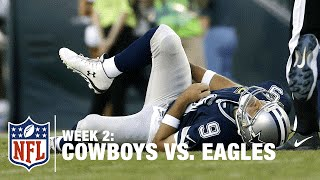 Download Tony Romo Fumbles and Gets Injured on the Play | Cowboys vs. Eagles | NFL Video