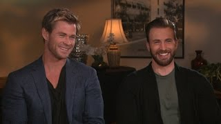 Download 'Avengers: Age of Ultron' Stars Chris Evans and Chris Hemsworth Take the 'Chris vs. Chris' Quiz! Video