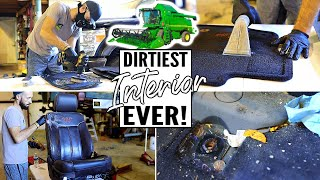 Download NEW Complete Disaster Full Interior Car Detailing || Deep Cleaning Car Interior Video