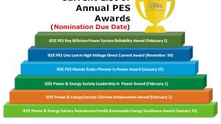 Download PES Webinar - It's Awards Season, Learn How to Nominate A Colleague Video