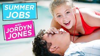 Download JORDYN JONES GIVES MOUTH TO MOUTH!? | Summer Jobs w/ Jordyn Jones Video