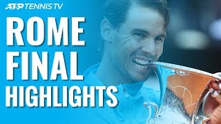 Download Nadal Beats Djokovic To Win Ninth Rome Title! | Rome 2019 Final Highlights Video
