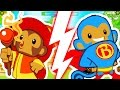 Download MONKEY APPRENTICE CHALLENGE (ONLY WIZARDS)! - BLOONS TOWER DEFENSE 5 Video