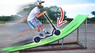 Download ELECTRIC SCOOTER JUMP!! Video
