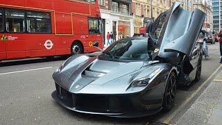 Download Gordon Ramsay driving his Ferrari LaFerrari in London! Video
