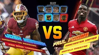 Download Josh Norman Skills Showdown vs. Paul Pogba | Redskins vs. Manchester United | NFL vs. Premier League Video