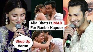 Download Varun Dhawan Reaction On Alia And Ranbir Zee Cine Awards Performance | Kalank Trailer Launch Video
