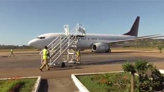 Download Air Madagascar B737-800 Fort Dauphin-Antananarivo Video