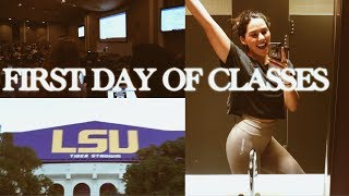 Download FIRST DAY OF CLASSES AT LSU VLOG + meet Tiger TV Video