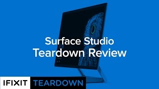 Download Microsoft Surface Studio Teardown Review! Video