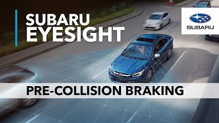 Download Pre-Collision Braking | Subaru EyeSight Driver Assist Technology Video