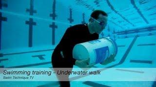 Download Swimming Training - Underwater Walk Video