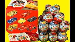 Download Тачки 3 Киндер Сюрприз Новая Коллекция Машинки Дисней Kinder Surprise Cars 3 Video
