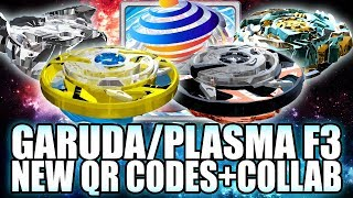 Download QR CODES MAXIMUM GARUDA PLASMA F3 + COLLAB C/ ZANKYE! - BEYBLADE BURST APP QR CODES Video