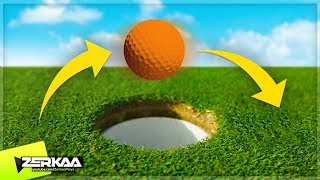 Download JUMPING OVER MINIGOLF HOLES! (Golf It) Video