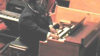 Download I Know It Was The Blood, with Bishop Andre Woods at the Hammond Organ Video