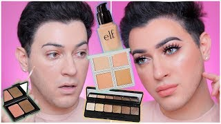 Download DRUGSTORE ONE BRAND TUTORIAL - ELF COSMETICS! Manny MUA Video