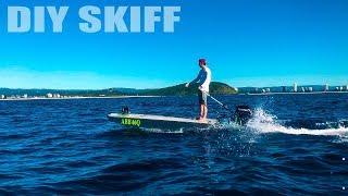 Download OVERPOWERED! Hand Built Skiff's Maiden Voyage!! Video