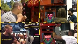 Download UFC fighters vs Boxing machine ! Video