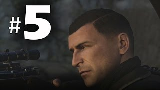 Download Sniper Elite 4 Gameplay Walkthrough Part 5 - Shipments! PS4 Pro Video
