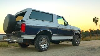 Download 1994 Full Size Ford Bronco Review Video