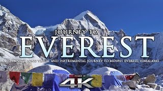 Download JOURNEY TO EVEREST | 4K Himalayas Nature Relaxation™ Experience w/ Instrumental Music Video