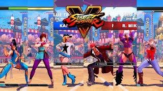Download Street Fighter V AE Chun Li/Sakura/Karin vs Necalli/R. Mika/Falke PC Mod Video