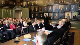 Download PhD defence ceremony in the Senate Room Video