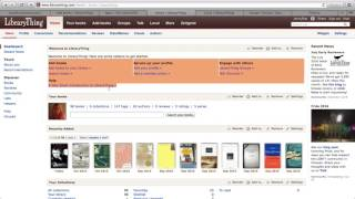 Download LibraryThing Tutorial Video
