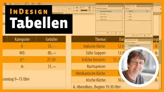 Download InDesign Tutorial: Tabellen Video