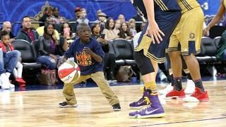Download NBA All-Star Celebrity Game 2017! NBA Impersonator, Saints Superfan, Baron Davis! Video