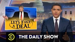 Download Trump Fakes a Deal: The Daily Show Video