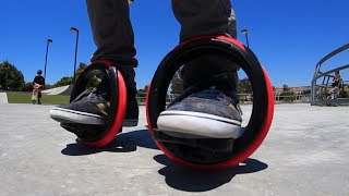 Download SELF-PROPELLED ORBITWHEEL SKATES?! Video