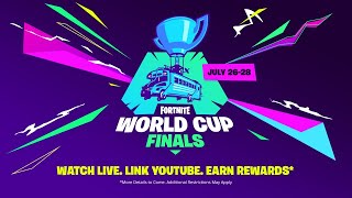 Download Link your Account and Tune in for the Fortnite World Cup! Video