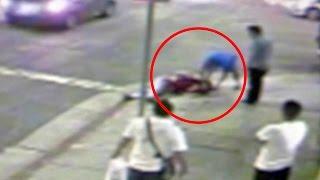 Download Criminales casi le arrancan la vida a un hombre a machetazos Video