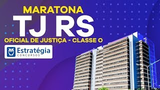 Download Maratona TJ RS - Cargo: Oficial de Justiça - Classe O Video