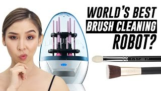 Download Lilumia 2 Brush Cleaning Robot- Does it work? | TINA TRIES IT Video