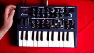 Download Microbrute Patch No 4, Classic MiniMoog Style Cutting Lead Video