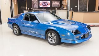 Download 1985 Chevrolet Camaro IROC Z For Sale Video
